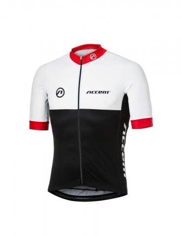 Koszulka-kolarska-Pro-Team-biało-czerwona-P