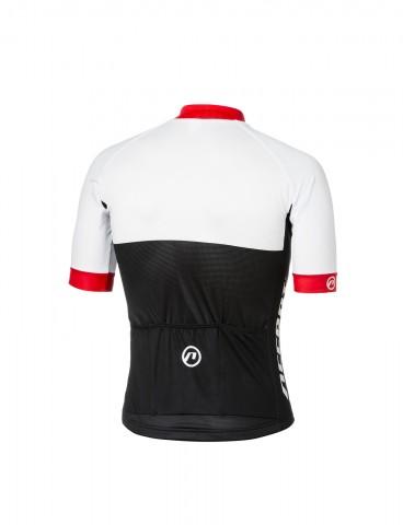 Koszulka-kolarska-Pro-Team-biało-czerwona-T