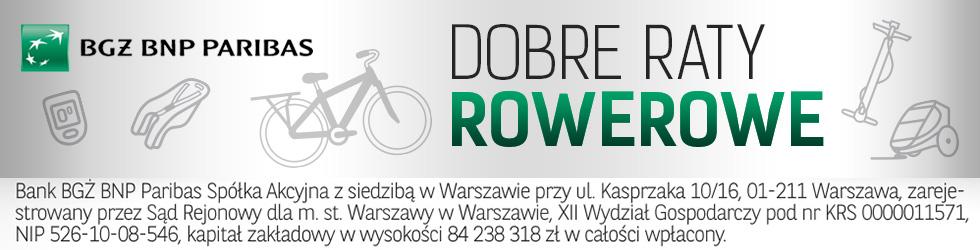 Dobre Raty Rowerowe BGŻ BNP Paribas